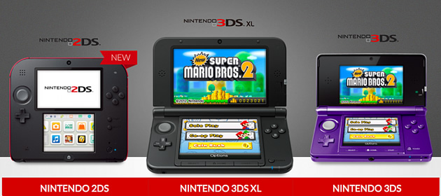 2DS New 3DS XL compatible